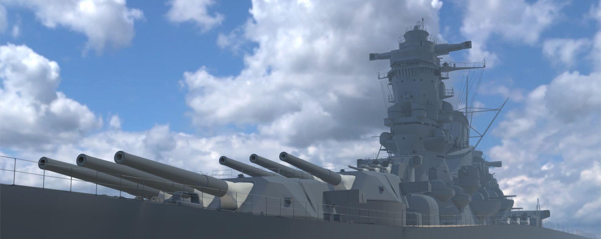 戦艦大和vr復元計画第二期 戦艦武蔵最終時の建造 Campfire