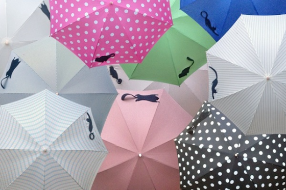 動物たちがしっぽで傘を束ねてくれる【Tail】のリニューアルプロジェクト